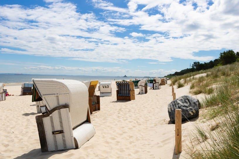 Strand Bansin auf Usedom